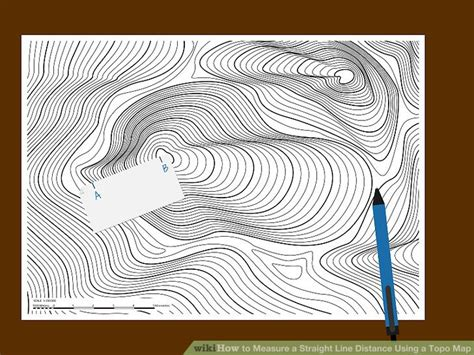 on a topographic map what is used to show elevation 3 ways to measure a line distance using a topo map