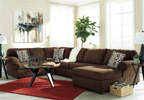 3pc sectional sofa jayceon java 3pc laf sofa sectional lexington overstock