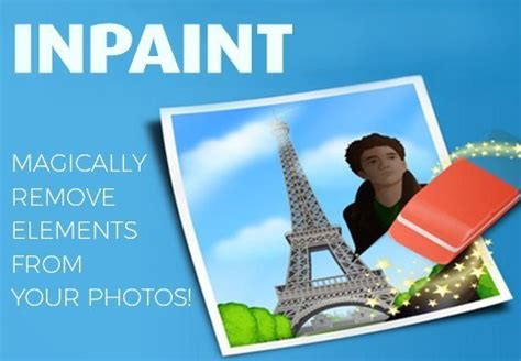 in paint inpaint magically remove elements from your photos