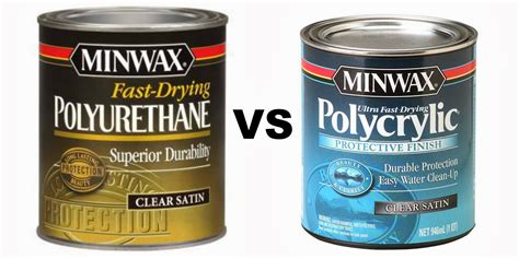 Two It Yourself Furniture Painting Tips Polycrylic Vs