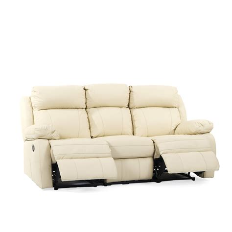 3 seat leather recliner leather recliner sofas