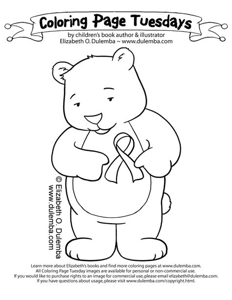 red ribbon week coloring page az coloring pages