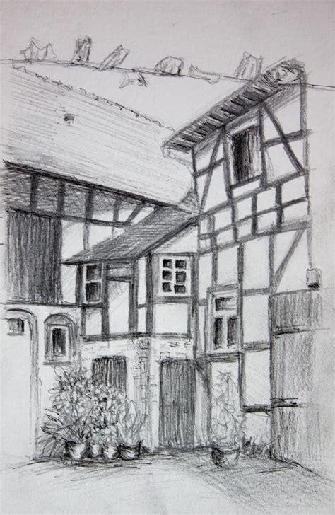 scheune zeichnen dippel rural sketching malen und zeichnen auf