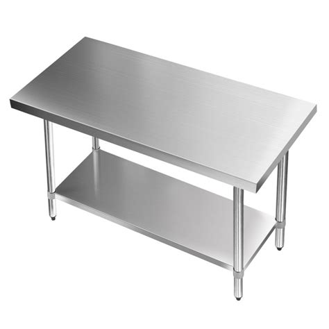 kitchen stainless steel benches 430 grade stainless steel kitchen bench 1219x610mm buy