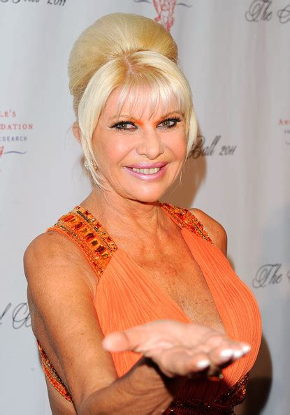 ivana trump photos photos 2011 angel ball to benefit