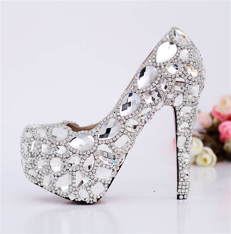 1 luxurious swarovski wedding pumps adworks pk