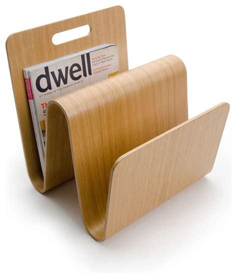 design magazine stand w magazine stand oak modern magazine racks by