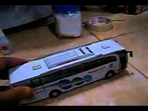 cara membuat mainan kereta api dari barang bekas cara membuat miniatur bus dari sterefom barang bekas