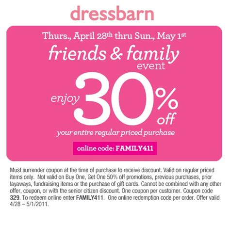 Dress Barn Coupon Dress Barn Coupons And Promo Codes Updated And Verified