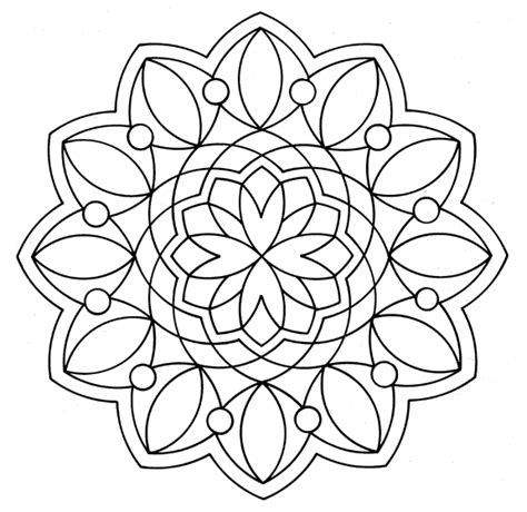 mandala coloring pages for relaxation everyone s mandala coloring book