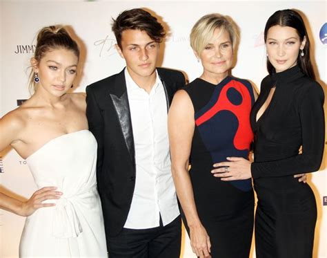 who is the father of yolunda fosters kids gigi hadid s sister bella had to give up olympic dream as