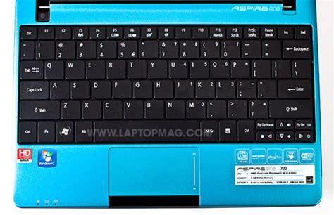 Keyboard Acer Aspire One 722 Bandung acer aspire one 722 notebook review ultraportable laptop