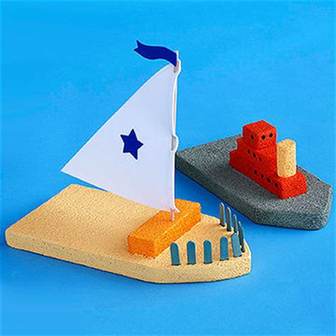 boat crafts for that float styrofoam crafts for from parents