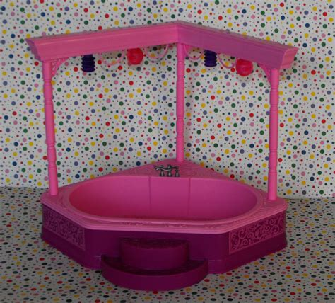 doll house spa 12 sold barbie 3 story dream house dollhouse spa jacuzzi tub part dollhouse furniture