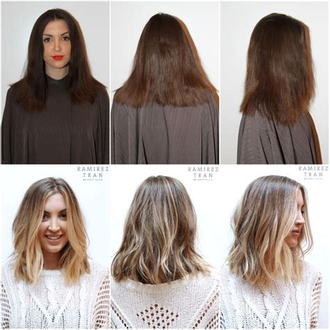 turning dark brown hair to blonde absolutely love this cut and color ashy light brown with