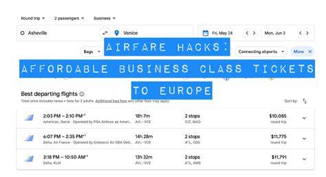 airline ticket hacks cheap business class   europe avid cruiser cruise reviews