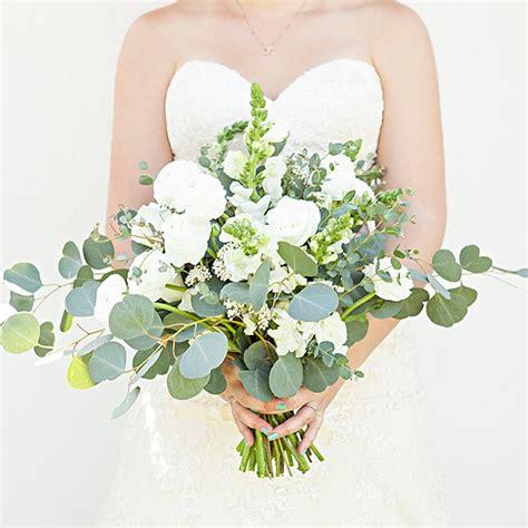 Wedding Bouquet Eucalyptus by Bouquet Blueprint Lush Organic Eucalyptus