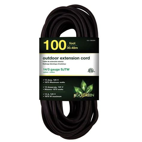 100 Ft X 14 Indoor Outdoor Extension Cord - best 25 outdoor extension cord ideas on