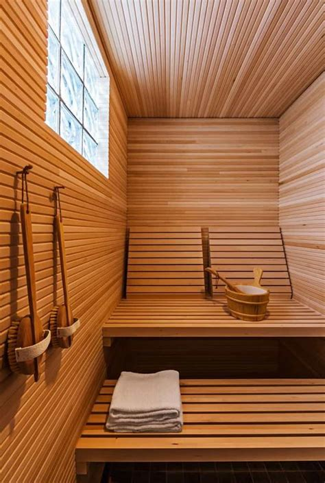 Spa Bathroom Decorating Ideas 35 spectacular sauna designs for your home