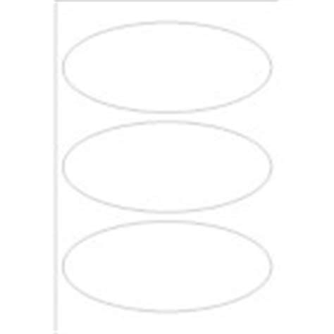 oval label templates templates print to the edge oval labels 3 per 4 x6