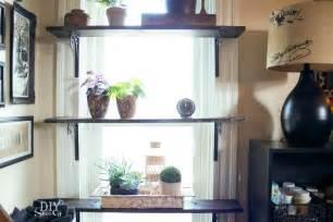 diy window shelves for plants diy show diy