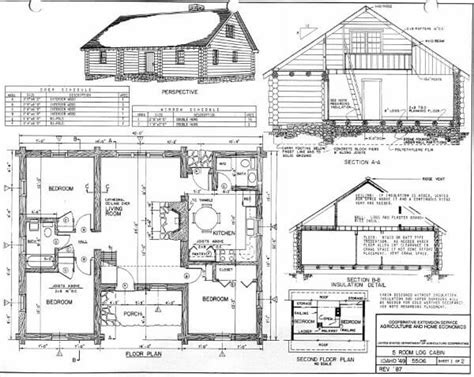 Blueprints For Cabins by Log Home Plans 40 Totally Free Diy Log Cabin Floor Plans