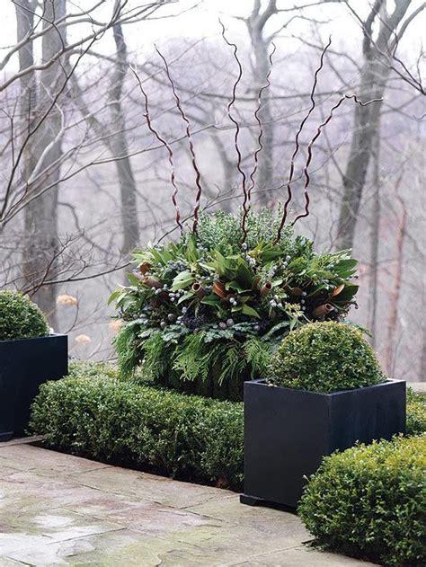 Winter Gardening Ideas Willow Bee Inspired Garden Design No 17 Winter Outdoor Containers