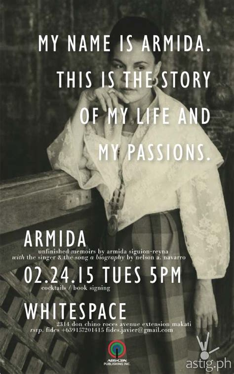 biography book launch armida siguion reyna biography book launch today astig ph