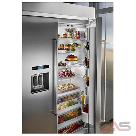 kitchen aid appliance reviews kitchenaid kbsd618ess refrigerator canada save 1 370 99