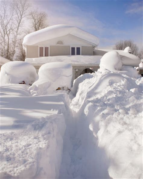 eerie photos of snow blanketing the interior of an bundle up home safety how to survive a snowstorm cedar