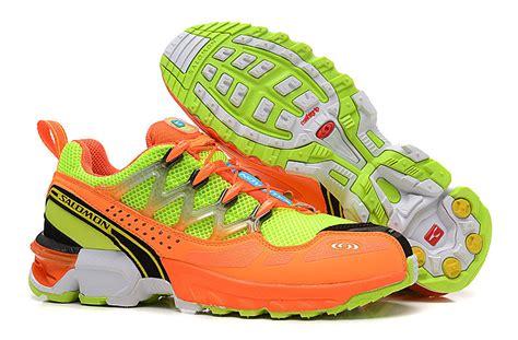Ardiles Mamamo Green Orange Running Shoes f1044 salomon gcs athletic trail running shoes fluorescent green orange salomon sale 007 163 52