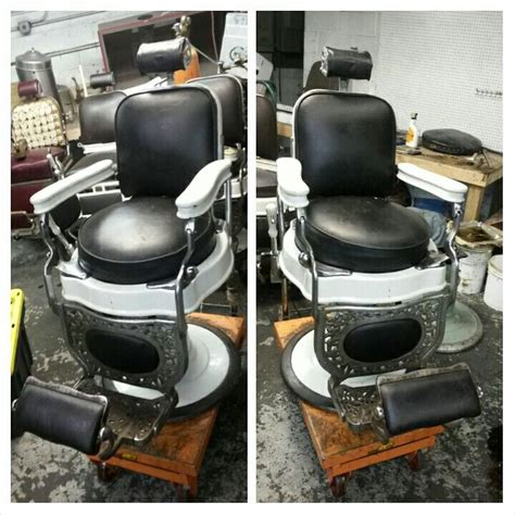 Antique Barber Chair Parts