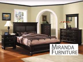 espresso finish eastern king bedroom set