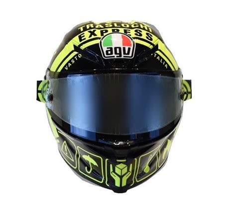 Helm Agv Corsa Winter agv corsa r iannone winter test 2017 helm chion helmets