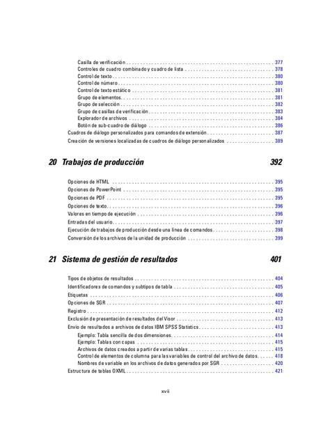 Manual Spss Español Pdf | manual spss19 en espa 227 177 ol