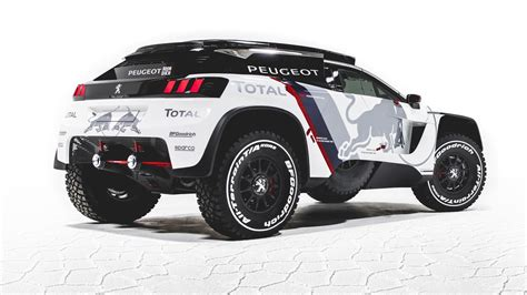 peugeot has made a new evil dakar car car news