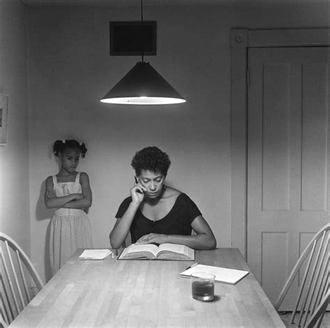 carrie mae weems kitchen table the genius of carrie mae weems the new york times