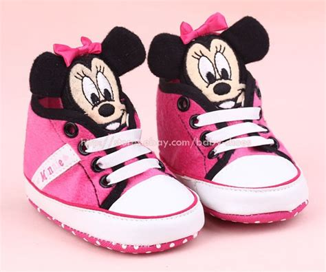 minnie mouse shoes for toddler toddler baby 3d minnie mouse crib shoes sneakers size