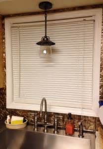 Kitchen Sink Light Fixtures My Country Farmhouse Kitchen Cynthia Designs
