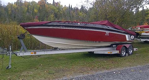 cigarette boat for sale toronto 26 foot cigarette with custom tandem axle trailer for sale