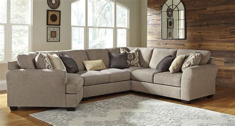 Furniture Sectional by Pantomine Driftwood Modular Sectional W Cuddler