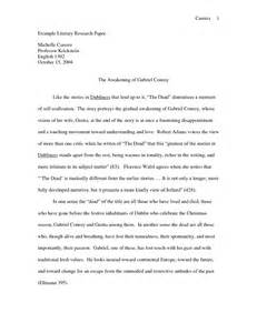 Literary Research Essay by Best Photos Of Research Papers Exles Of Literature Sle Literature Review Papers