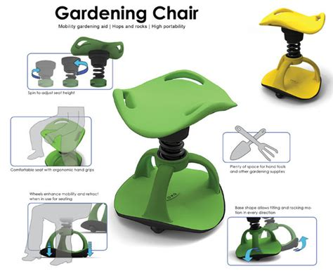 Gardening Chair Stool by Gardening Chair Mobility Gardening Aid For Boomers By