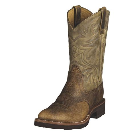 ariat boots ariat mens heritage crepe sole boots