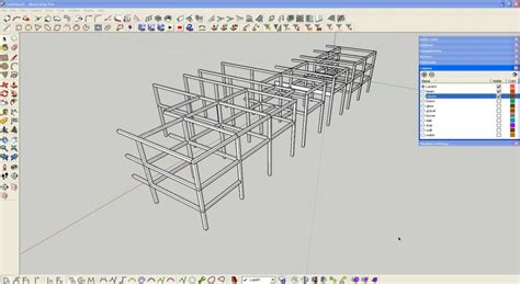 sketchup tutorial on layers making of bahamas sketchup 3d rendering tutorials by