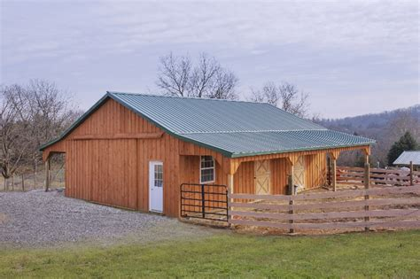 40 X 40 Shed by Pole Barn Photos