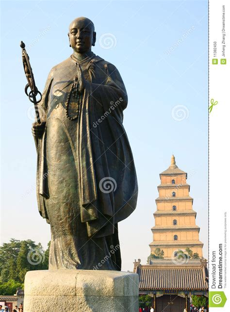 biography of xuanzang buddhist monk statue of master xuan zang stock photo image of buddha