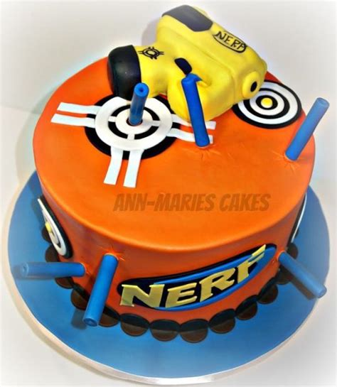 24 best images about nerf gun cake ideas on