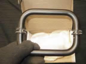 alumax shower door handles 1 pair alumax shower door handles btb orb 6 quot the