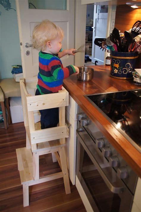 Kitchen Helper Stool Ikea by Gl 252 Cksfl 252 Gel Bauanleitung F 252 R Einen Learning Tower